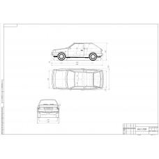 Автомобиль ВАЗ-2108