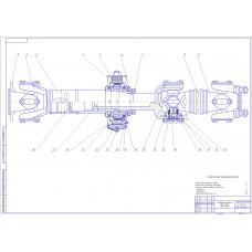 Вал карданный ЗИЛ-433100