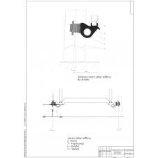Кинематическая схема задней зависимой подвески
